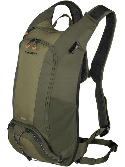 Shimano Unzen II Trail Backpack 14l Olive Green